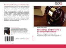 Portada del libro de Enseñanza del Derecho y su calidad educativa