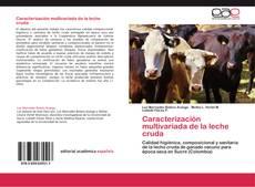 Bookcover of Caracterización multivariada de la leche cruda