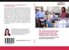 Обложка La comunicación en organizaciones de educación superior