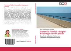 Capa do livro de Gerencia Pública Integral Estratégica con Calidad