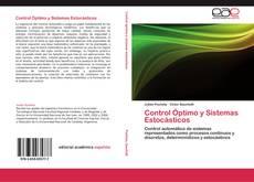 Portada del libro de Control Óptimo y Sistemas Estocásticos