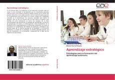 Capa do livro de Aprendizaje estratégico