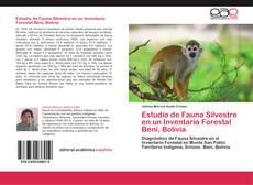 Обложка Estudio de Fauna Silvestre en un Inventario Forestal Beni, Bolivia