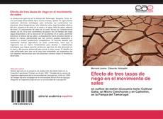 Обложка Efecto de tres tasas de riego en el movimiento de sales