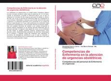 Portada del libro de Competencias de Enfermería en la atención de urgencias obstétricas