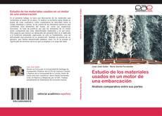 Portada del libro de Estudio de los materiales usados en un motor de una embarcación