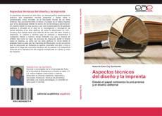 Buchcover von Aspectos técnicos   del diseño y la imprenta
