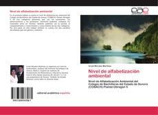 Capa do livro de Nivel de alfabetización ambiental