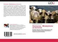 Borítókép a  Hormonas - Metabolismo en terneros - hoz