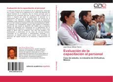 Bookcover of Evaluación de la capacitación al personal