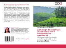 Copertina di Evaluación de micorrizas y estimuladores del crecimiento en Pennisetum