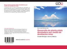 Buchcover von Desarrollo de planta piloto desaladora por medio de destilación solar