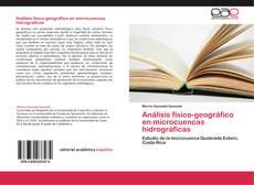 Buchcover von Análisis físico-geográfico en microcuencas hidrográficas
