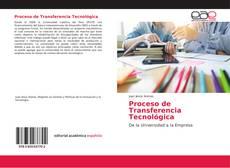 Обложка Proceso de Transferencia Tecnológica