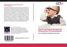 Bookcover of Perfil del Docente para la Educación Personalizada