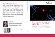 Buchcover von Emoción, Sociabilidad y Lenguaje