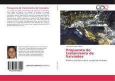 Couverture de Propuesta de tratamiento de lixiviados