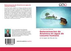 Bookcover of Determinacion de Arsenico en agua de cosumo humano