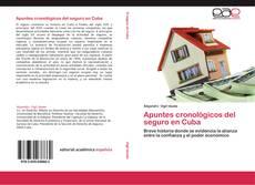 Portada del libro de Apuntes cronológicos del seguro en Cuba