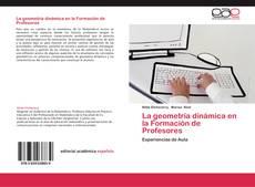 Copertina di La geometría dinámica en la Formación de Profesores