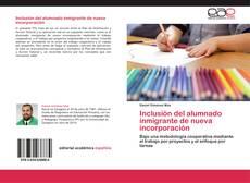 Portada del libro de Inclusión del alumnado inmigrante de nueva incorporación