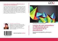 Обложка Léxico de uso venezolano en Memorias de un venezolano de la decadencia
