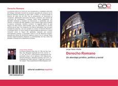 Обложка Derecho Romano