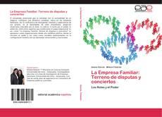 Portada del libro de La Empresa Familiar: Terreno de disputas y conciertos