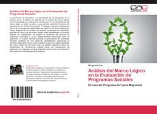 Capa do livro de Análisis del Marco Lógico en la Evaluación de Programas Sociales