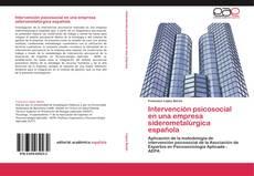 Portada del libro de Intervención psicosocial en una empresa siderometalúrgica española