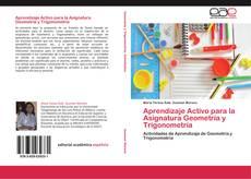Обложка Aprendizaje Activo para la Asignatura Geometría y Trigonometría