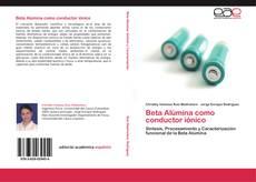 Buchcover von Beta Alúmina como conductor iónico