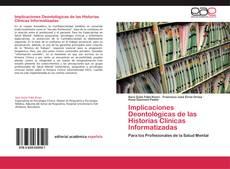 Portada del libro de Implicaciones Deontológicas de las Historias Clínicas Informatizadas