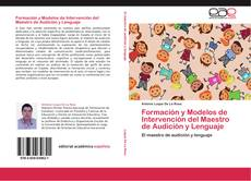 Bookcover of Formación y Modelos de Intervención del Maestro de Audición y Lenguaje