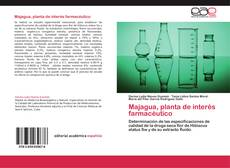 Capa do livro de Majagua, planta de interés farmacéutico
