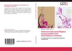 Обложка Intervención psicológica en pacientes con dermatosis crónicas