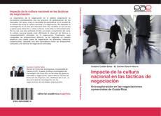Обложка Impacto de la cultura nacional en las tácticas de negociación