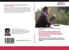Bookcover of Control automático de Humedad de Suelo para invernáculo