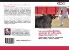 Buchcover von La racionalidad de los animales en la Filosofía Española moderna