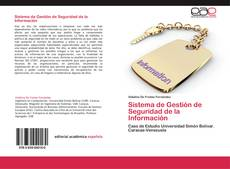 Couverture de Sistema de Gestión de Seguridad de la Información