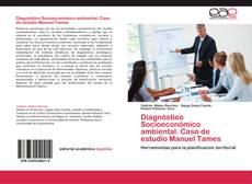 Capa do livro de Diagnóstico Socioeconómico ambiental. Caso de estudio Manuel Tames