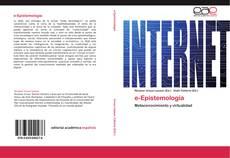 Bookcover of e-Epistemología