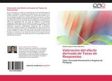 Couverture de Valoración del efecto derivado de Tasas de Respuestas