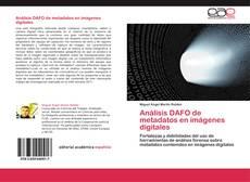 Buchcover von Análisis DAFO de metadatos en imágenes digitales