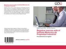 Portada del libro de Registrar marcas ante el Instituto Mexicano de Propiedad Industrial