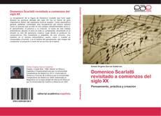 Обложка Domenico Scarlatti revisitado a comienzos del   siglo XX