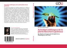 Bookcover of Actividad antifúngica de la planta Baccharis glutinosa