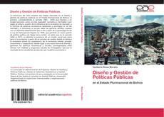 Borítókép a  Diseño y Gestión de Políticas Públicas - hoz