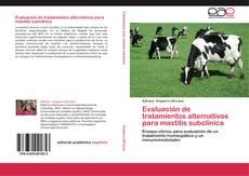 Copertina di Evaluación de tratamientos alternativos para mastitis subclínica