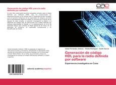 Capa do livro de Generación de código HDL para la radio definida por software